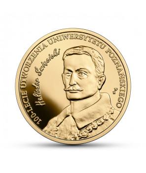 Złota moneta 200 zł Uniwersytet Poznański