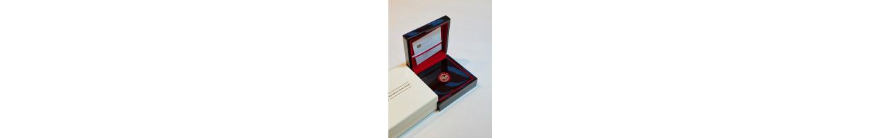 Złota moneta 100 zł 10. rocznica tragedii smoleńskiej
