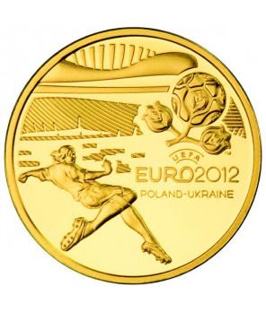 Złota moneta 100 zł UEFA Euro 2012