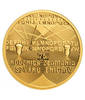 Złota moneta 100 zł złamanie Enigmy