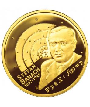 Złota moneta 200 zł Stefan Banach