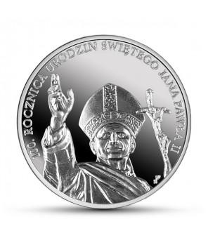 10 zł 100. rocznica urodzin Jana Pawła II