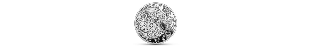 Moneta kolekcjonerska 20 zł złotówka gdańska Augusta III