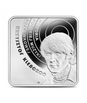 10 zł Krzysztof Klenczon (kwadrat)