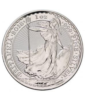 Britannia - 1 uncja srebra 2018