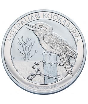 Kookaburra - 1 uncja srebra 2016