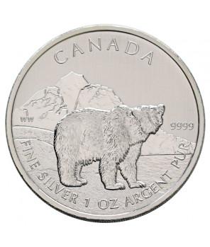 Kanada 5 dolarów Niedźwiedź
