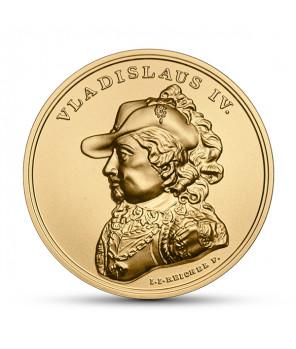 Złota moneta 500 zł SSA Władysław IV