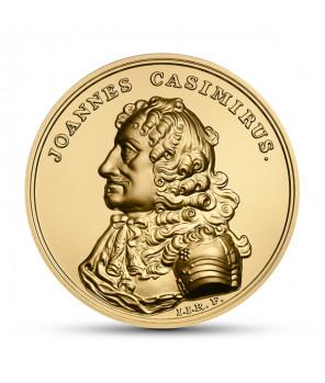 Złota moneta 500 zł Jan Kazimierz Waza