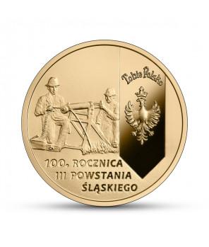 200 zł 100. rocznica III Powstania Śląskiego - złota moneta kolekcjonerska