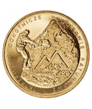 2 zł 95. rocznica wymarszu Pierwszej Kompanii Kadrowej 2009