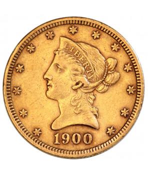 USA - 10 dolarów 1900