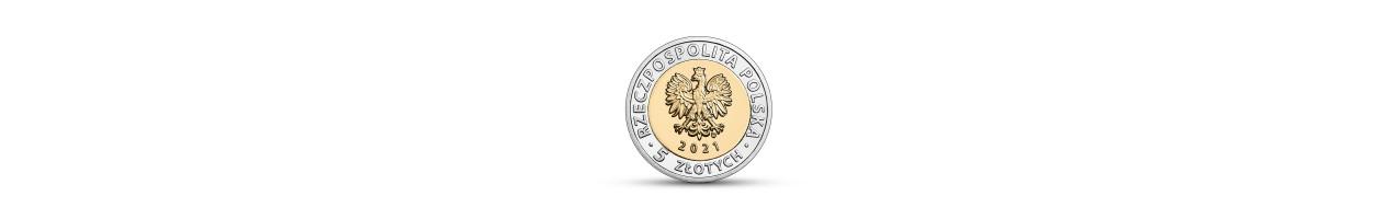 Moneta okolicznościowa 5 zł Brama Żuraw w Gdańsku