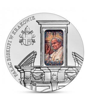 50 zł Pałac Biskupi w Krakowie - moneta kolekcjonerska NBP
