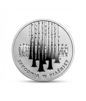 Moneta 10 zł Zbrodnia w Piaśnicy