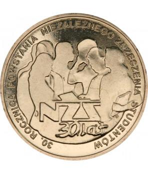 2 zł 2 zł 30. rocznica powstania NZS 2011