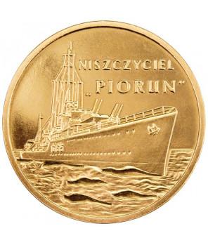 2 zł Polskie okręty Niszczyciel Błyskawica 2012