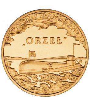 2 zł Polskie okręty Niszczyciel Piorun 2012