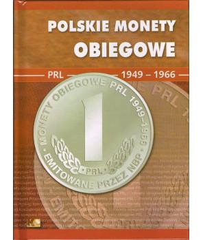 Album Polskie Monety Obiegowe II RP 1949 - 1966