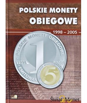 Album Polskie Monety Obiegowe II RP 1998 - 2005