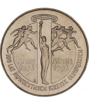 2 zł 100 lat nowożytnych igrzysk olimpijskich Atlanta 1995