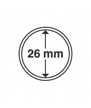 Kapsle Leuchtturm średnica 26 mm - 10 sztuk