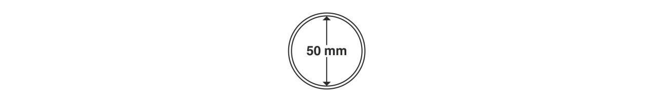 Kapsle Leuchtturm średnica 50 mm - 10 sztuk