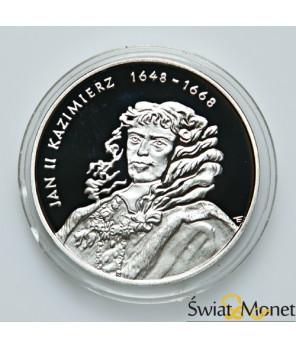 10 zł Jan Kazimierz popiersie 2000