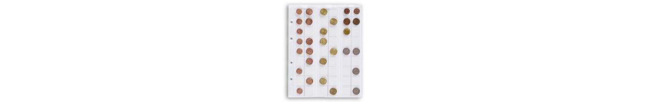 Leuchtturm karta OPTIMA M54 na monety do 20 mm