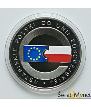 10 zł Wstąpienie Polski do UE 2004